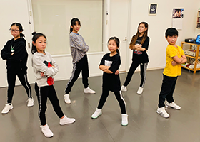 HIPHOP初中級クラス(YUKI)